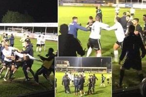 Товариський матч молодіжних команд в Англії переріс у масову бійку