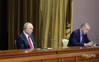 Путін на переговорах перекинув стілець Ердогана