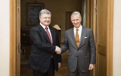 Король Бельгії розповів Порошенку, як спав на підлозі в київській квартирі