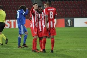 Скендербеу - Динамо 3:2 відео голів та огляд матчу
