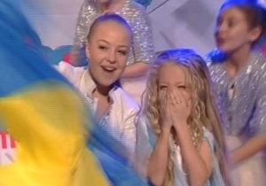 Анастасия Петрик в ВКонтакте - детское Евровидение 2012