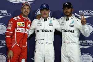 Боттас виграв кваліфікацію Гран-прі Абу-Дабі