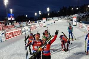 Біатлон: Україна залишилася без медалі в першій гонці Кубка світу