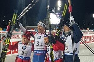 Биатлон: Норвегия выиграла смешанную эстафету, Украина замкнула десятку