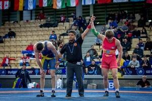 Українські борці виграли вісім медалей на ЧЄ до 23 років