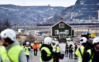 У Швеції переїде ціле місто з будинками і мешканцями