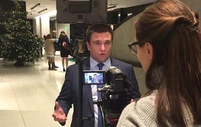 Клімкін обіцяє українцям безвіз зі 100 країнами