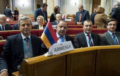 На заседании ПАЧЭС скандал с армянской делегацией