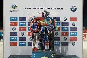 Биатлон: Джима в индивидуальной гонке третья, Семеренко –  четвертая
