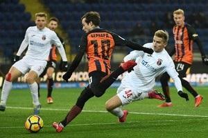 Шахтер разгромил Верес в матче 1/4 финала Кубка Украины
