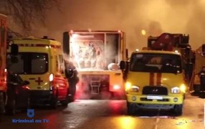 В Москве крупная авария на тепломагистрали: восемь пострадавших