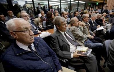 В Аргентине 48 военных осуждены за пытки и убийства