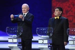 Відбулося жеребкування Чемпіонату світу з футболу
