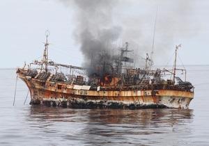 Береговая охрана США потопила японский корабль-призрак