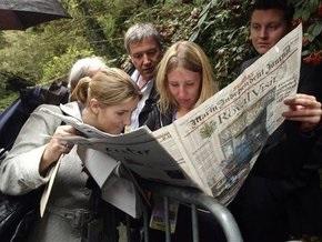 Греческие журналисты отказались готовить вторничные выпуски газет