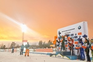 Біатлон: відео найкращих моментів першого етапу Кубка світу в Естерсунді