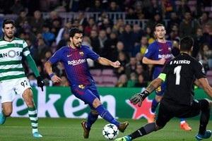 Барселона - Спортинг 2:0 відео голів та огляд матчу Ліги чемпіонів