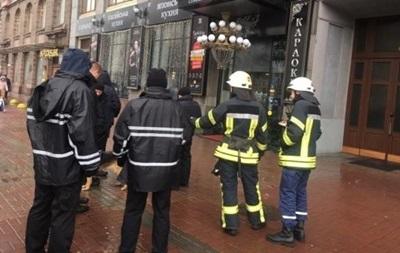 Бомбу в здании агентства УНН в Киеве не нашли