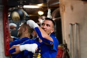 Ломаченко провел открытую тренировку в Нью-Йорке