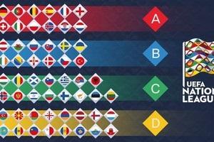 Украина попала во вторую корзину дивизиона B при жеребьевке Лиги наций