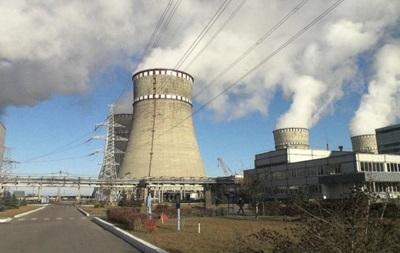 На Рівненській АЕС відключили енергоблок №3