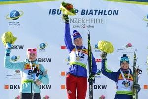 Абрамова и Журавок стали призерами в спринте на этапе Кубка IBU
