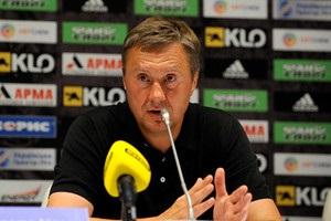 Хацкевич розкритикував арбітра матчу проти Олександрії