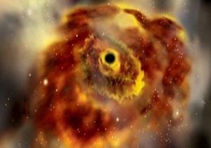 Ученые смоделировали вид неба из черной дыры