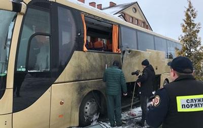 В польский автобус на Львовщине стреляли из гранатомета - СМИ