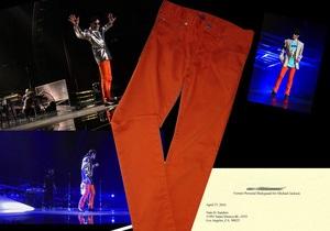 В Лос-Анджелесе на аукцион выставили джинсы Майкла Джексона