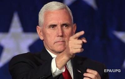 Американский вице-президент отложил визит в Израиль