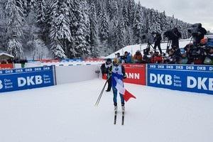 Биатлон: Бреза добыла первую победу в карьере, Джима - седьмая