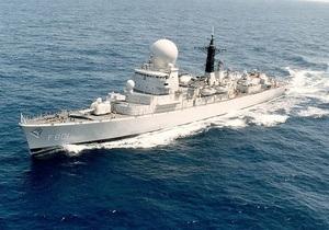Сомалийские пираты по ошибке напали на военное судно