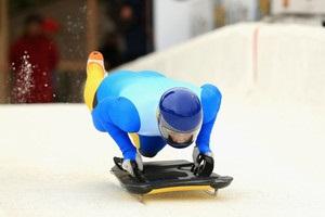 Скелетонист Гераскевич стал 15-м на первом для себя чемпионате Европы