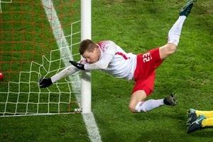 Форвард Лейпцига зламав руку в трьох місцях, забиваючи м яч Герті