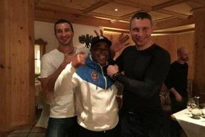 Кличко собрал свою команду в тренировочном лагере в Гоинге