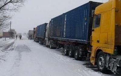Движение транспорта ограничили в5 областях— Снегопады вУкраинском государстве