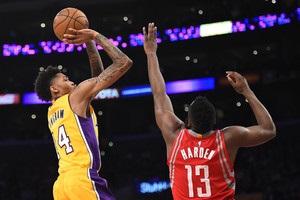 НБА: Оклахома разгромила Юту, Хьюстон уступил Лейкерс