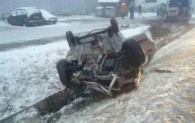 В Словакии микроавтобус с украинцами попал в ДТП