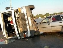 В Днепропетровской области перевернулась маршрутка: 6 пострадавших