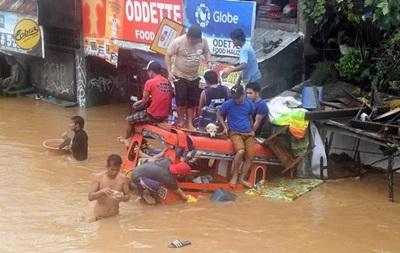 Кількість жертв шторму на Філіппінах зросла до 240 осіб