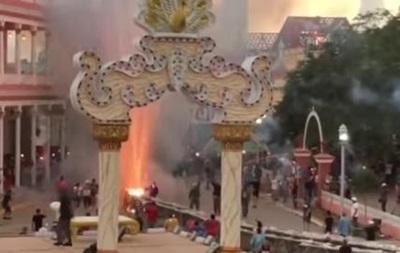 НаКубе 22 человека пострадали при взрыве нафестивале фейерверков