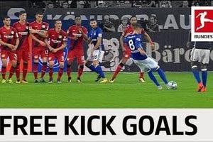 Есть на что посмотреть: лучшие голы со штрафных в Бундеслиге этого сезона
