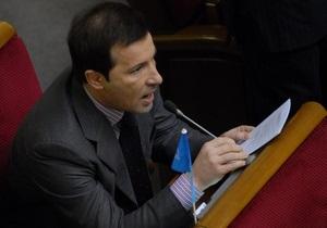 Представитель ПР публично извинился перед украинским народом за драку в парламенте