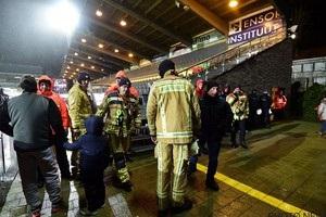 Матч команди Малиновського скасували через обвал даху стадіону