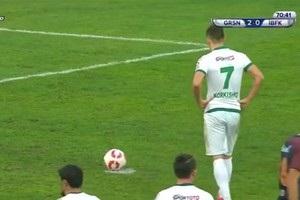 Украинский нападающий стал героем матча Кубка Турции