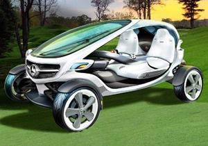 Mercedes показал, какими будут гольф-карты будущего