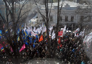 Оппозиция призывает сторонников выйти в субботу на акцию протеста в Киеве