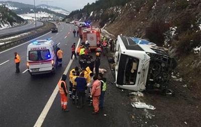 У Туреччині потрапив у ДТП автобус, понад 20 постраждалих