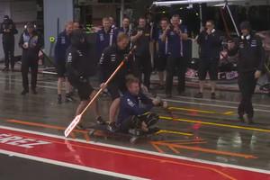 Видео самых смешных моментов сезона Формулы 1